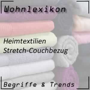 Couchbezug mit Stretch-Material