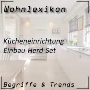 Einbau-Herd-Set für die Küche