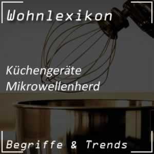 Kochen mit dem Mikrowellenherd