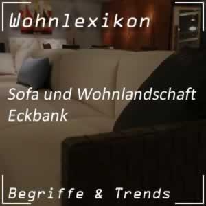 Eckbank im Haushalt