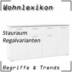 Wohnen Regal / Regalvarianten