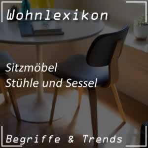 Stühle und Sessel für die Wohnung