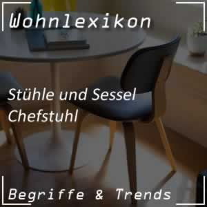 Chefstuhl / Chefsessel