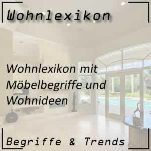 Wohnlexikon Wohnen-ABC Wohnbegriffe